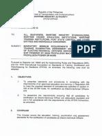 Proposed STCW Circular No. 2015-13 (Final)