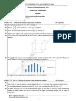 Subiect Matematica Simulare en Dec 2017