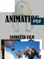 Animation Print Media and Comic Books