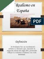 El Realismo en España 10º