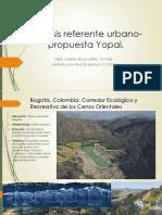 Análisis Referente Urbano-propuesta Yopal