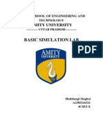 Basic Simulation Lab File