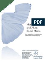 Marketing & PR in Social Media