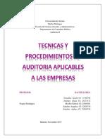 Auditoria II Empresas Agropecuarias