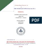 Modified Seminar Report Template