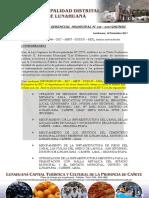 RESOLUCION DE GERENCIAL  N° 015 – 2017
