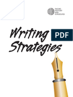 Argumentative Writing Strategies