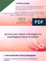 TUTORIAL 1 -EDU3093.pptx
