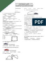 Evaluacion Diagnostica de Fisica
