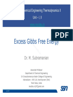 Thermo II Lecture 4 ExcessGibbsEnergy1214