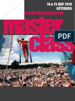 Göteborg Festival and Event Management Masterclass