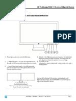 Monitor LED HP ProDisplay P200