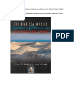 The Dead Sea Scrolls Questions and Responses for Latter-day Saints - Donald W. Parry, Stephen D. Ricks