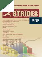 Strides Volume 1, Issue 1, 2016-17 (1)
