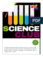 Science Club Report