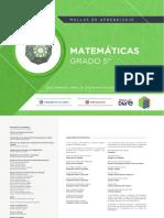 Matemáticas Grado 5