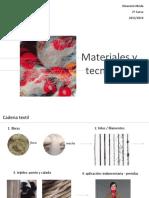 ESDI Materiales y Tecnologia