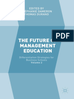 Stéphanie Dameron,Thomas Durand (Eds.)- The Future of Management Education_ Volume 2_ Differentiation Strategies for Business Schools-Palgrave Macmillan UK (2018)