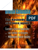 Force of Nature -- Canadian Cancer Society -- 2009 12 28 -- BC Prohibition -- Donations -- Consultation -- MODIFIED -- PDF -- 300 Dpi