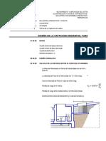 4.2.1 Diseño, Calculo Hidraulico y Estructural Captacion