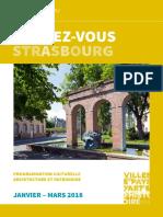 Strasbourg 2018, programmation culturelle architecture et patrimoine