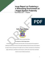 Delta Kappa Epsilon - DKE Working Group Draft