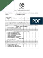 Borang Maklum Balas Program PMGS18
