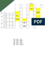 Timetable 2nd 2nda
