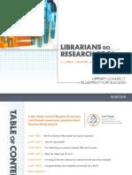 Bibliotecários - Pesquisadores - LC Tenopir Librarians Do Research Too