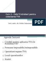 2. Cele 5 Intrebari Colectare TVA