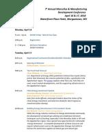 MMDC Extermal Agenda 2 4 18