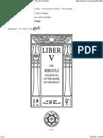 Liber5 Vel Reguli