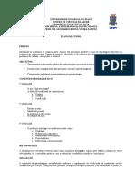 Plano de Curso Psicologia Uespi - Epistemologia 1