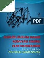 Hukum Dasar Konversi Energi