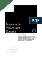 Mercados de Valores Ecuador