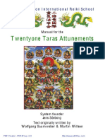 LW 21 Taras Attunements