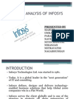 Strategic Analysis of Infosys