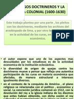 Los Clerigos Doctrineros y La Economia Colonial ( (1)