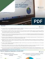 Informe Salarios III TRIM 2017