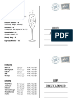 Final 606 Postcard Drink Menus