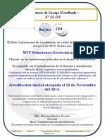 Alcance de Acreditacion de un laboratorio de ensayos Costaricense