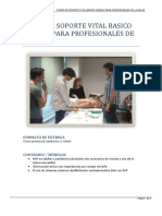 Soporte Vital Basico Svb Bls Para Profesionales de La Salud (1)
