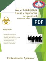 UNIDAD 2 Contaminantes Quimicos Y Biologicos