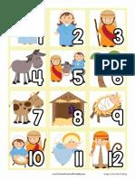 Calendar Nativity Pack