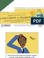 Bangladesh Contests Slides Spanish