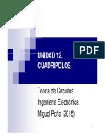 t12 Cuadripolos Presentacion 2015