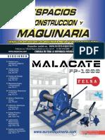 Revista Espacios de Construccion y Maquinaria 262