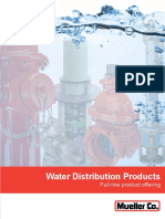 Mueller Water Distribution Products Brochure