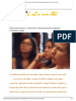 Política Del Deseo __ Entrevista a Raquel Gutiérrez Aguilar __ Verónica Gago
