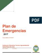 Plande Emergencia